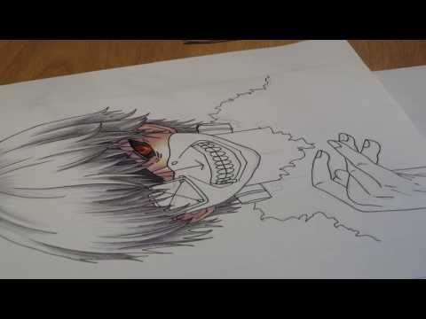 Tokyo Ghoul / Токийский Гуль / Drawing Anime