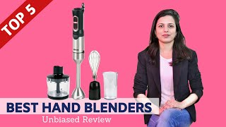 ✅ Top 5: Best Hand Blenders in India With Price 2020 | Review & Buying Guide