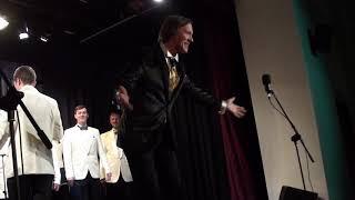 Смотреть видео М.  Марьянович -  Помню, как на Масленной в Москве -  Сергей Петрищев,   Моск  мужской хор онлайн