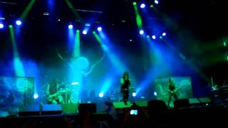 Amorphis Live at Graspop 2015 - Black Winter Day/Drowned Maid