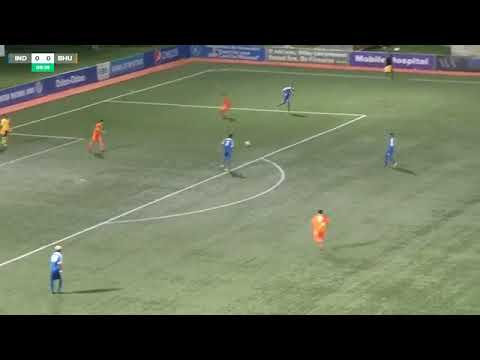 India U18 vs Bhutan U18 SAFF cup full match
