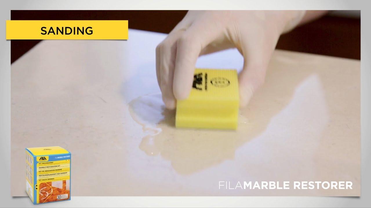 Marble restoration kit FILAMARBLE RESTORER | FILA Solutions