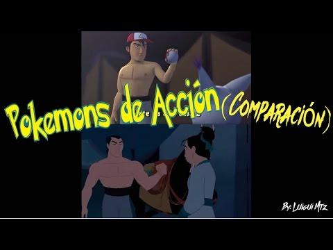 """Pokemons de Acción (Parodia """"Hombres de Acción""""-Mulan Versión Pokemón)"""
