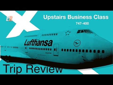 Lufthansa 747-400 Business Class Review - I Finally Get to Ride Upstairs