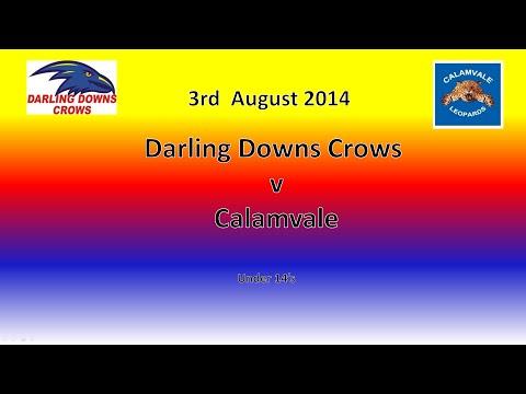 Darling Downs v Calamvale U14 AFL 3.8.14