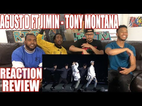 AGUST D FT JIMIN - TONY MONTANA PERFORMANCE REACTION/REVIEW