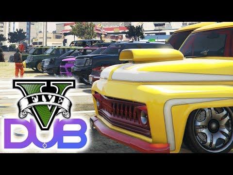 30 PLAYER DUB EDITION CAR MEET | GTA 5 (Online) w/ The Nobeds Community