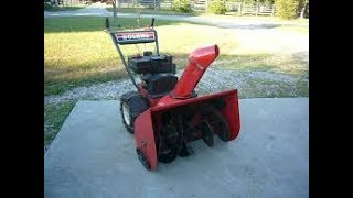 free junk snowblower, lets repair it,