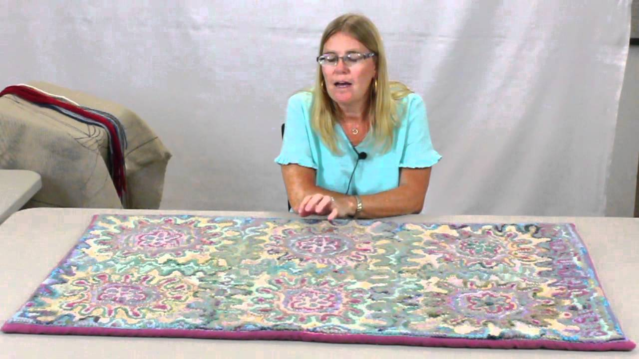 Part 1 Rug Hooking With Yarn By Susie Stephenson Examples And Inspirations You