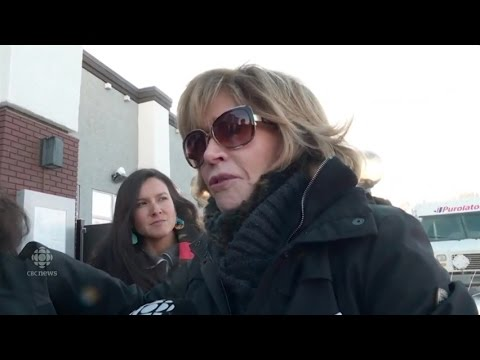 Jane Fonda visits Oilsands: 'It's like someone took my skin and peeled it off my body'