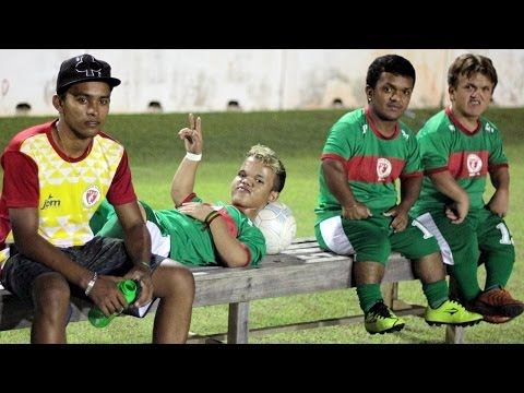 Meet The 'Ronal-teenios': Brazil's Dwarf Football Team