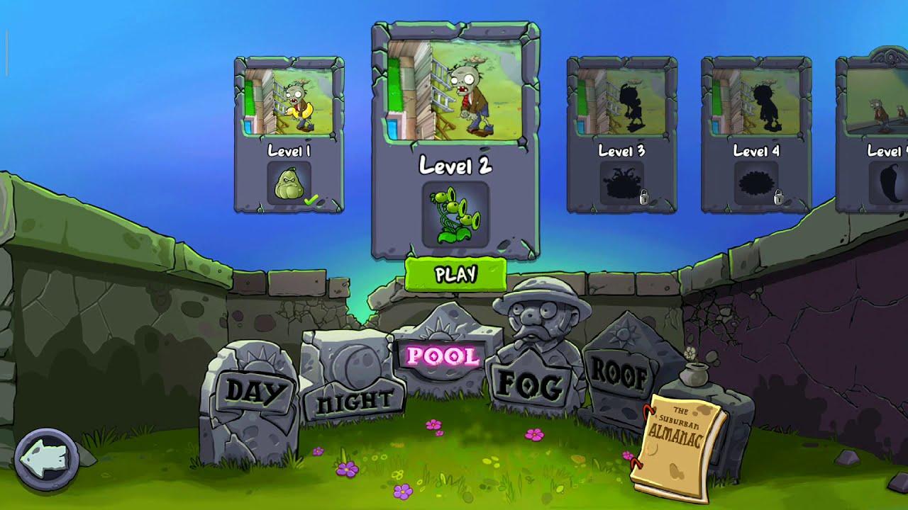 Plants vs Zombies:Adventure 2😗😗😗||Chơi Game giải trí😀😀😀😀