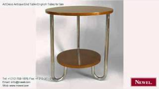Art Deco Antique End Table English Tables For Sale