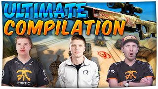 CS:GO - Ultimate PRO AWP COMPILATION (Stream Highlights) ft. s1mple, pasha & More!