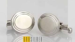 Orosilber Engravable Cufflinks Thumbnail