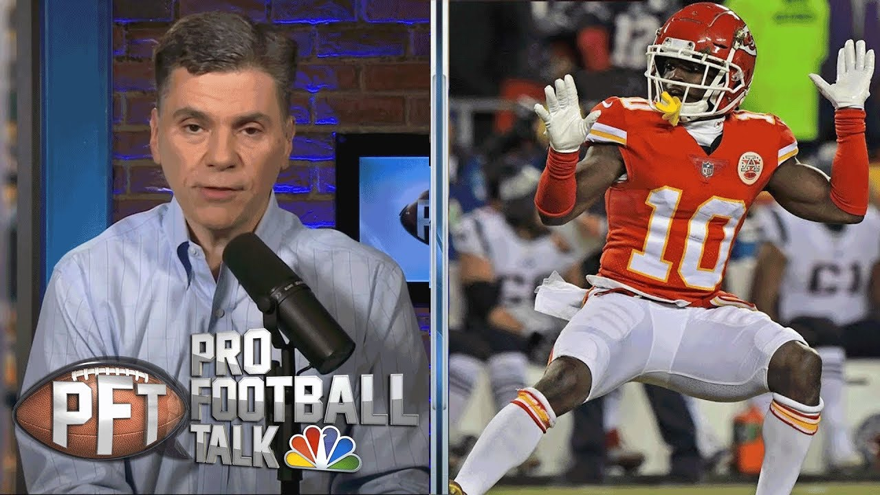 PFT Top 30 Storylines: Will Tyreek Hill face suspension? | Pro Football Talk | NBC Sports