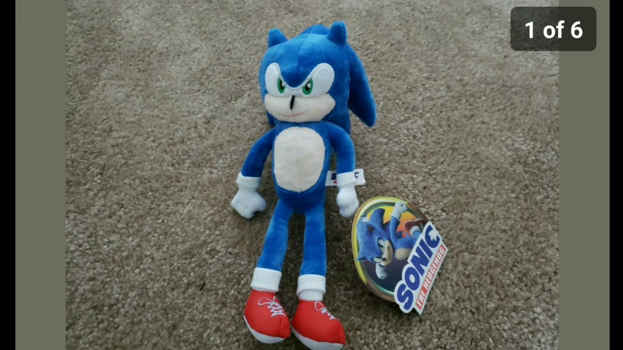 Another Sonic Plush 2020 Got Listed Youtube