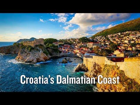Croatia's Dalmatian Coast Bike Tour Video