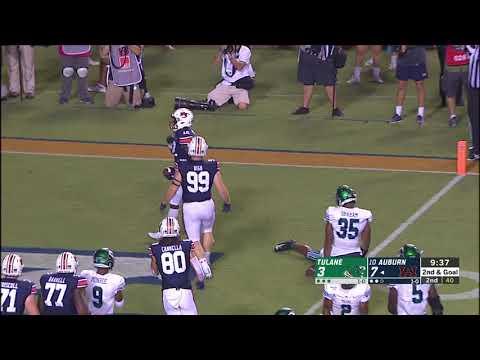 Auburn Sports - #8 Auburn-24 Tulane-6 | Recap & Highlights