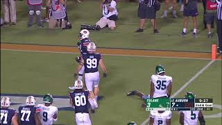 Auburn Football Vs Tulane Highlights
