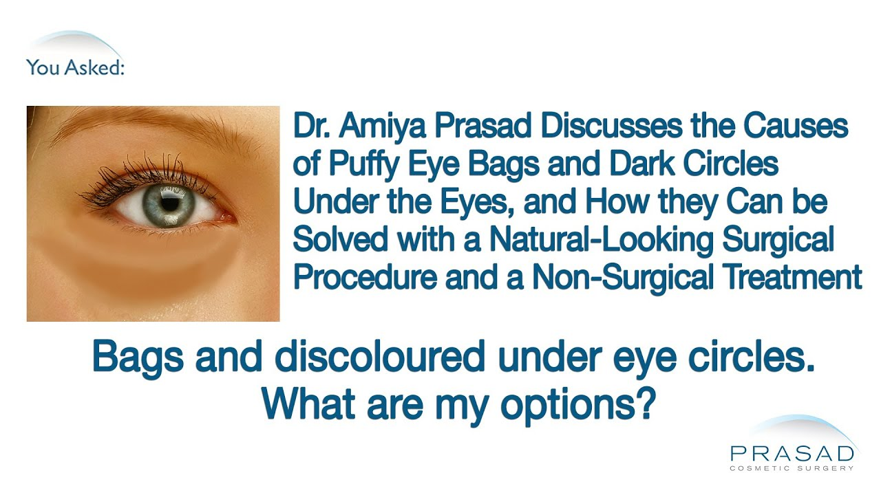 what is the cause of bags under the eyes