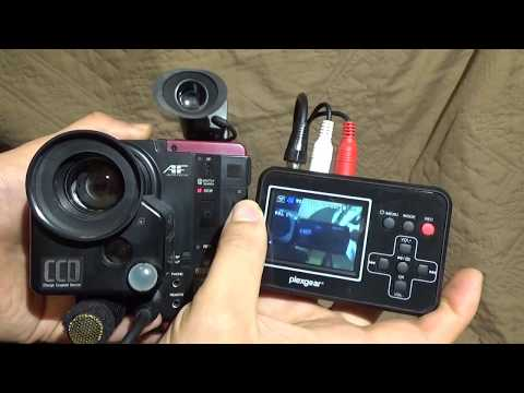 JVC Video Movie GR-C7E 1984 camcorder review