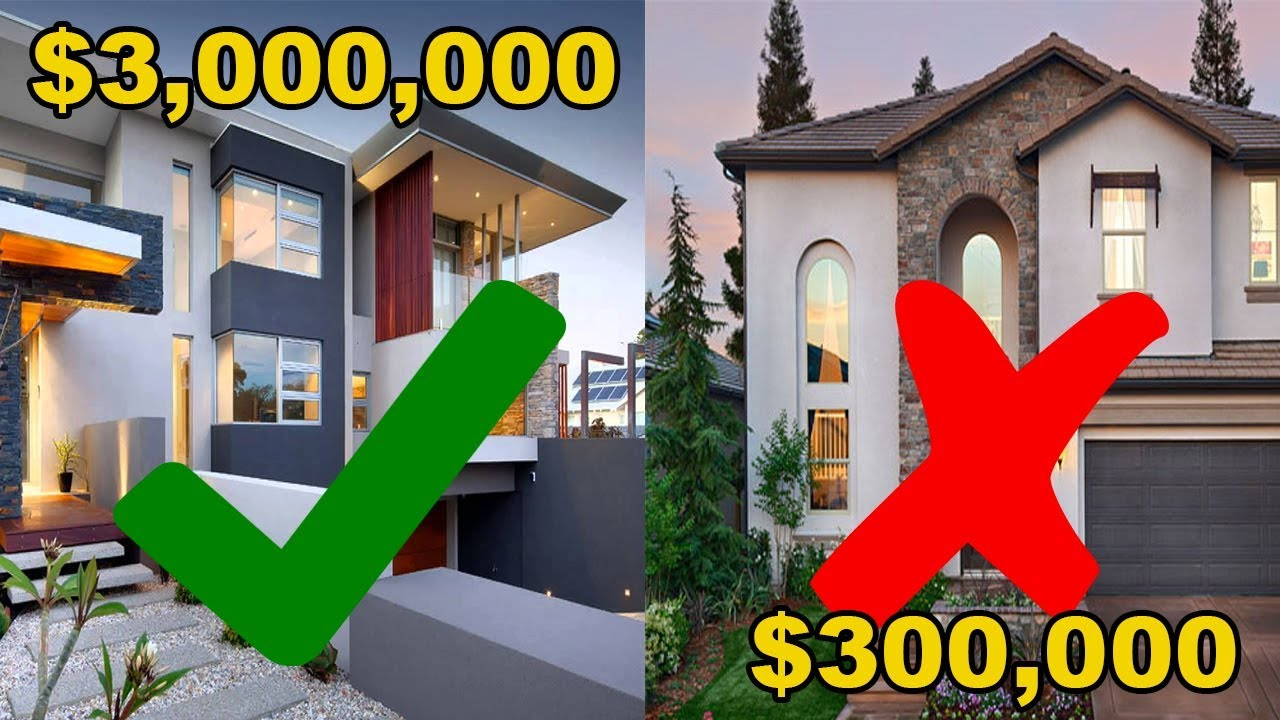 Why it s easier to sell a 3 000 000 house vs a 300 000 for 250000 dollar house