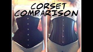Corset Comparison: Rebel Madness vs Ebay Waist Training Corset
