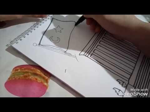 Anıtkabir Resmi Nasıl çizilirçocuklar Için Anıtkabir Resmi Youtube