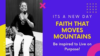 Faith that Moves Mountains | Women In Ministry