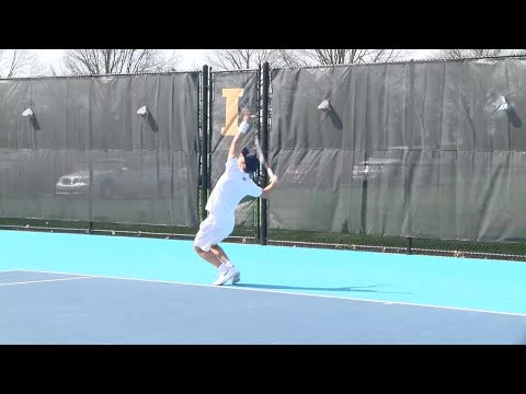 Illinois Men's Tennis Highlights vs Wisconsin 4/20/18