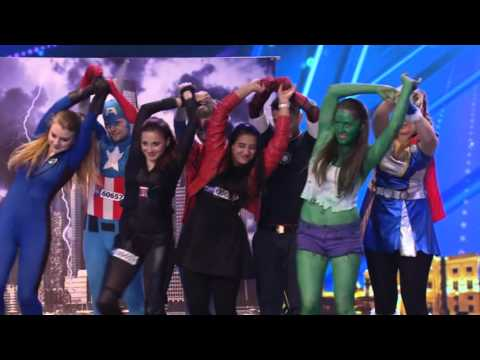 ČESKO SLOVENSKO MÁ TALENT 2015 - Feel the Bounce