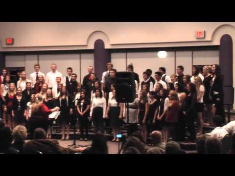fountain hills high school christmas concert 2012   choir  ding dong merrily on high