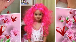 5 лет дочке, Слайд шоу на юбилей девочке