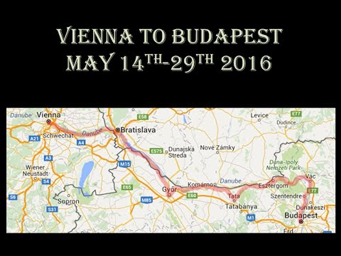 Bicycle trip Vienna to Budapest