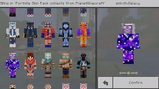 Fortnite Skin Pack in Minecraft PE