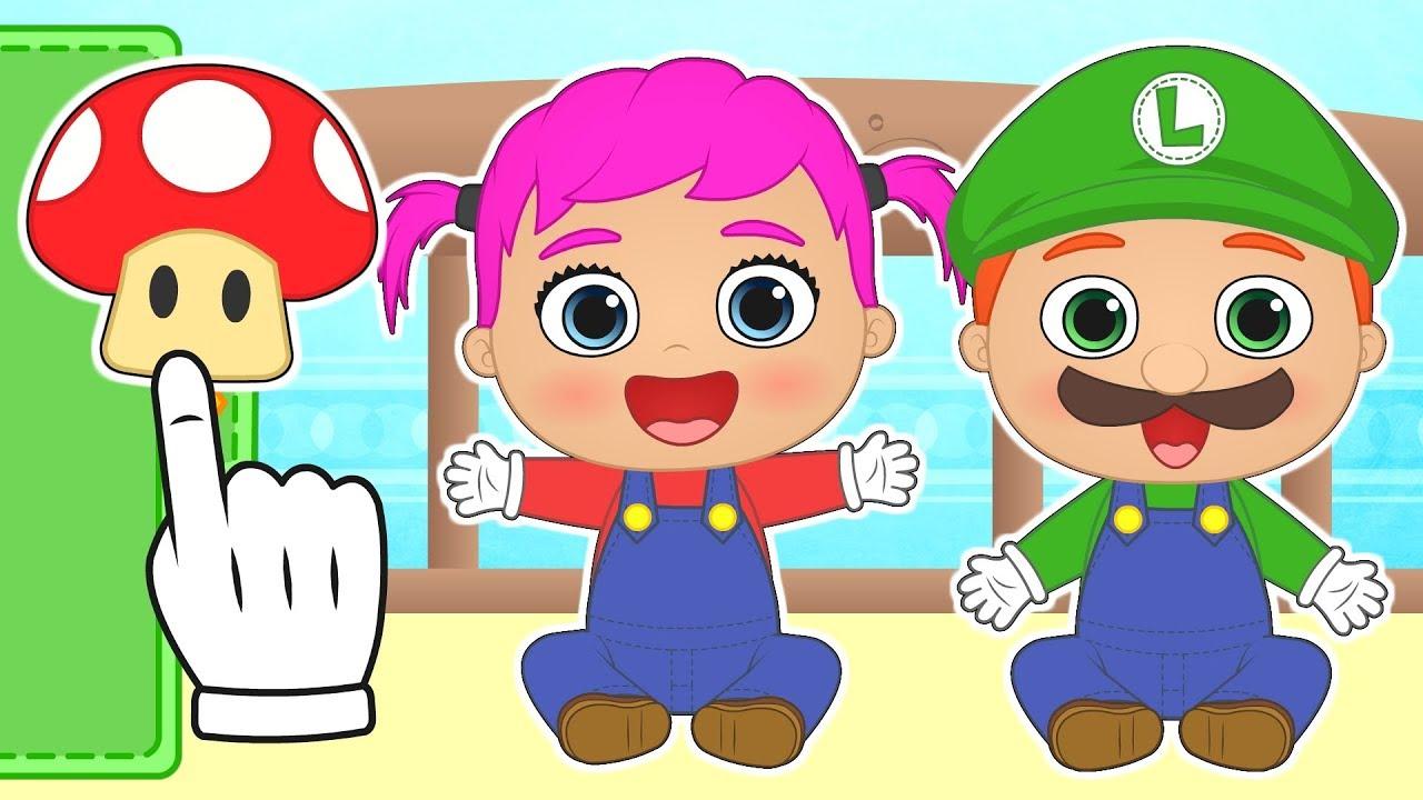 Bebes Alex Y Lily Se Transforman Personajes De Videojuego Dibujos Animados Para Niños Youtube