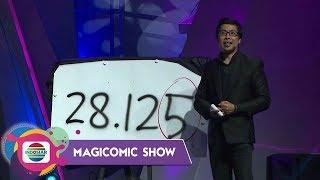 Keren!! Magic Matematika Joe Sandy Bikin Terpukau Deddy Corbuzier - MAGICOMIC SHOW