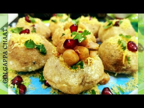 Golgappa Chaat Recipe | Sev Puri Chaat | Indian Street Food | How To Make Sev Puri