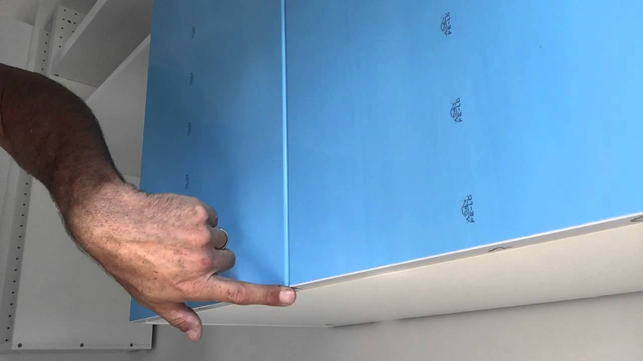 IKEA SEKTION door adjustment - YouTube