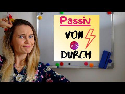 Passiv: Von vs. durch?   Deutsch lernen (B1, B2)