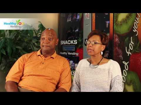HealthyYOU Vending Reviews - Dwayne & Sabrina B.