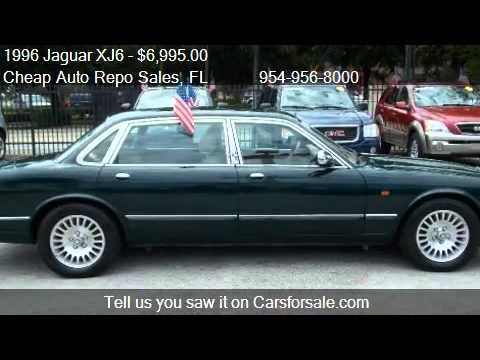1996 jaguar xj6 vanden plas for sale in pompano beach. Black Bedroom Furniture Sets. Home Design Ideas