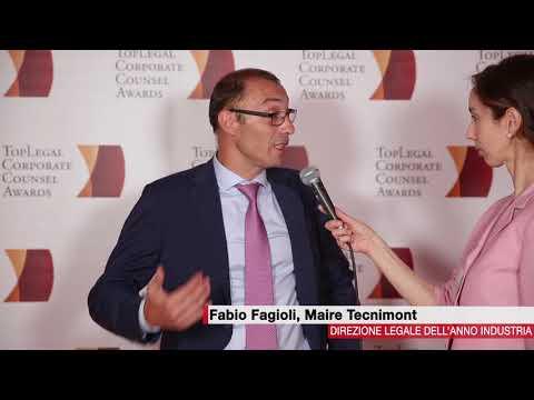 Fabio Fagioli, Maire Tecnimont  - TopLegal Corporate Counsel Awards 2018