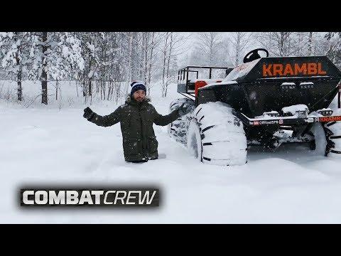 Вездеход Krambl и Турбо-трактор! Кто победит?