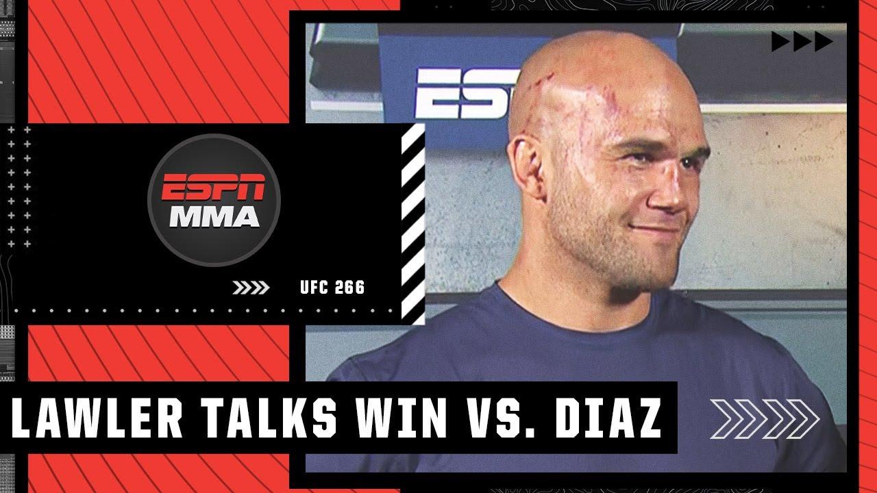 Download Robbie Lawler recaps his UFC 266 win vs. Nick Diaz   ESPN MMA