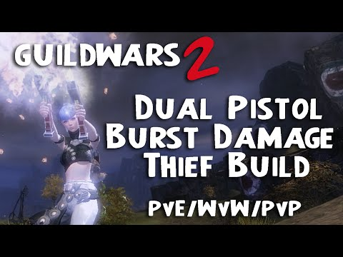 Guild Wars  Pistol Thief Build