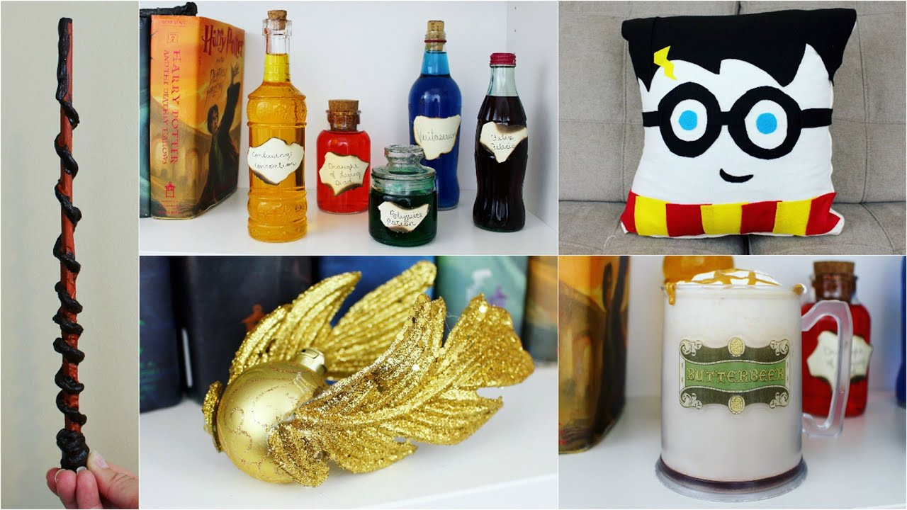 5 cheap and easy harry potter diy crafts pinterest inspired youtube solutioingenieria Image collections