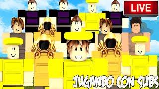 JUGANDO CON SUBS BOOGA BOOGA Y ROBLOX| ROBLOX ESPAÑOL