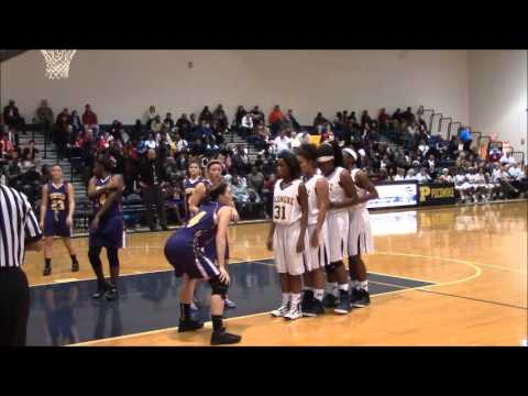 Dynaisha Christian Basketball Highlights: Pocomoke High School